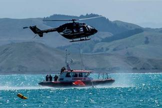 Helicopter Coastguard Training